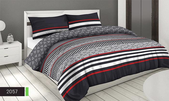 10 סט מצעים 100% כותנה ROMANTEX למיטת יחיד או זוגית