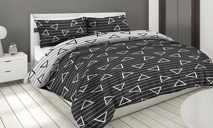 12 סט מצעים 100% כותנה ROMANTEX למיטת יחיד או זוגית