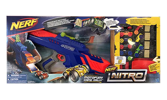 רובה מכוניות נרף NERF דגם Nitro