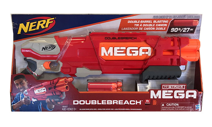רובה נרף NERF דגם MEGA DOUBLEBREACH