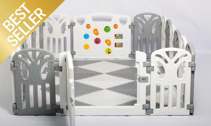 7 גדר פעילות לילדים ותינוקות