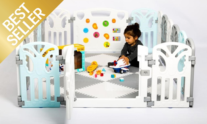 2 גדר פעילות לילדים ותינוקות