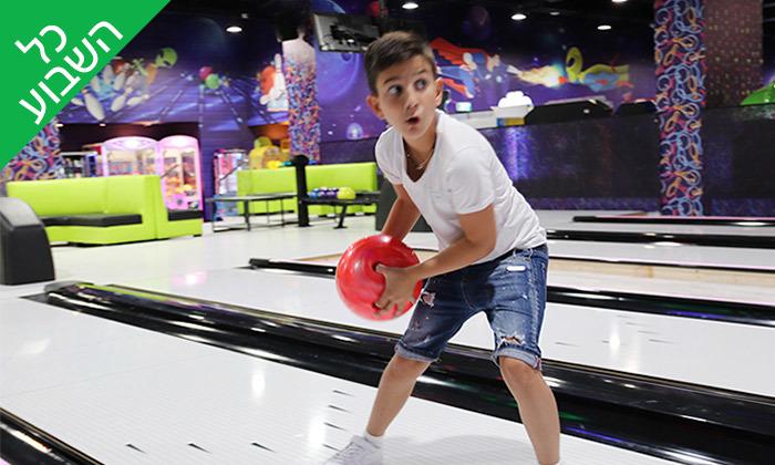 4 משחק באולינג במתחם בבילוןBabylon Park, ירושלים