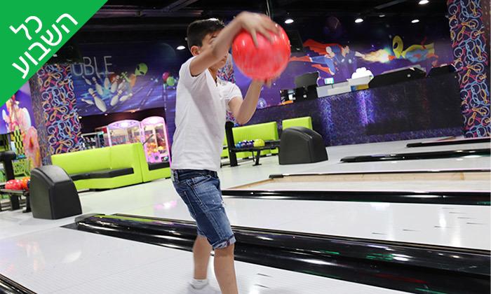 5 משחק באולינג במתחם בבילוןBabylon Park, ירושלים