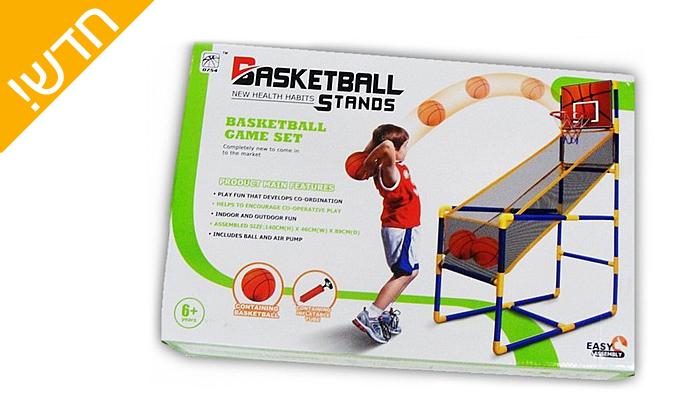 4 מתקן כדורסל ביתי