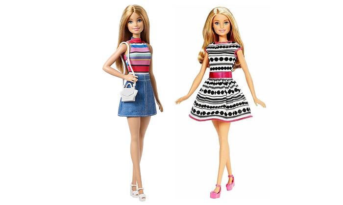 2 בובת ברבי Barbie