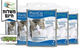 5 שקים של חול לחתול practic