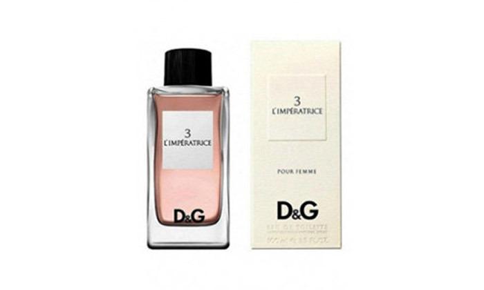 3 בושם לגבר ולאישה Dolce & Gabbana לבחירה