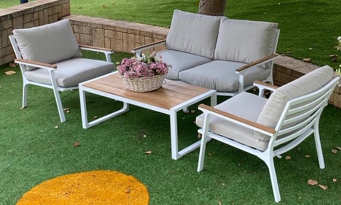2 פינת ישיבה לגינה, דגם אמיגו