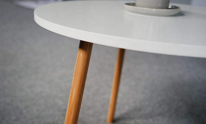 5 שולחן קפה דגם VENTO - כולל שולחן STEFANO מתנה