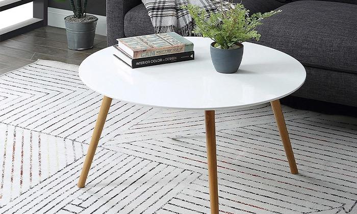 6 שולחן קפה דגם VENTO - כולל שולחן STEFANO מתנה