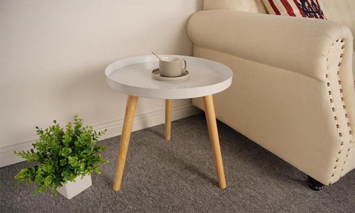 3 שולחן קפה דגם VENTO - כולל שולחן STEFANO מתנה