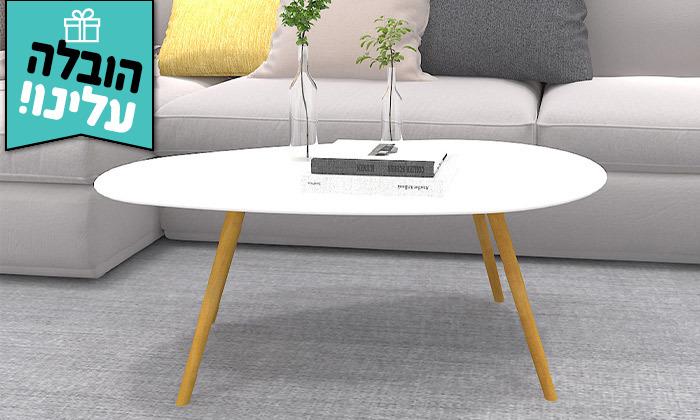 4 שולחן קפה דגם BERGAMO - משלוח חינם