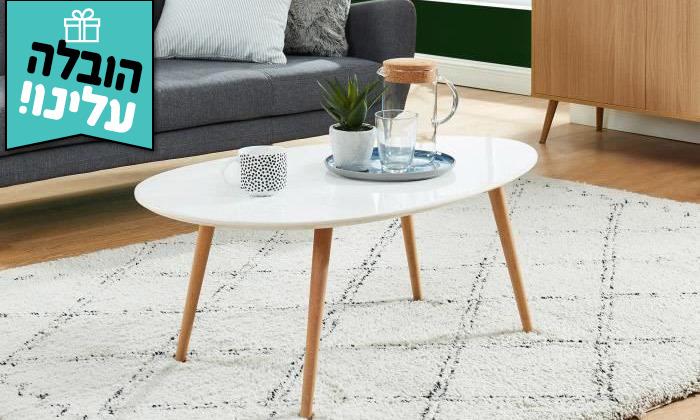 2 שולחן קפה דגם BERGAMO - משלוח חינם