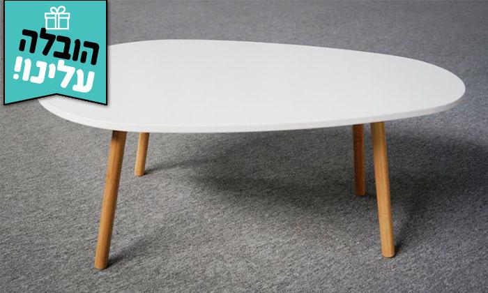 3 שולחן קפה דגם BERGAMO - משלוח חינם