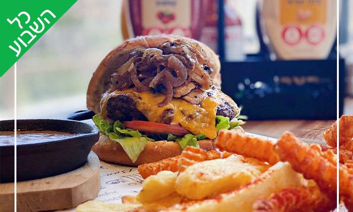 5 ארוחה זוגית במסעדת הקצב burger, צומת עדי