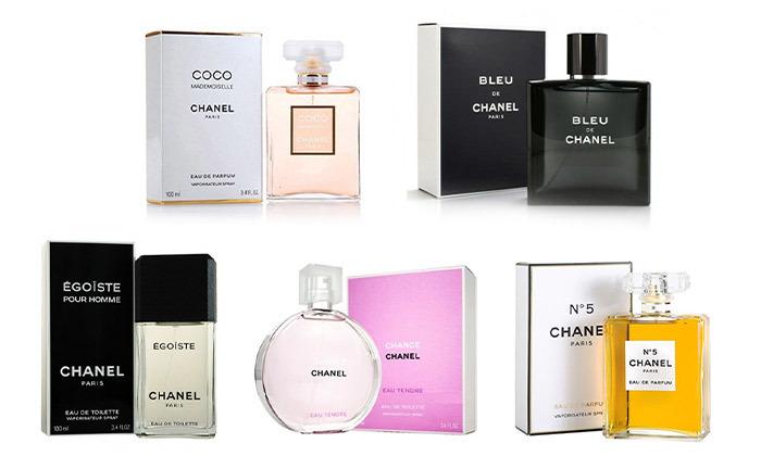 2 בושם לגבר ולאישה Chanel
