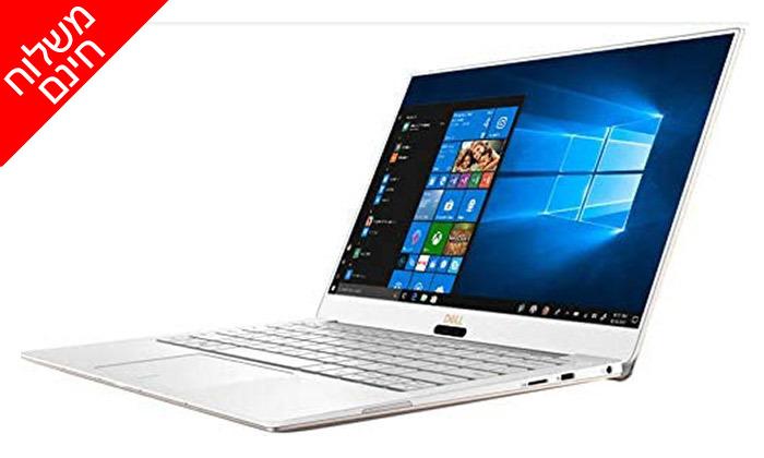 """6 מחשב נייד מעודפים DELL, דגם XPS 7390 עם מסך מגע """"13.4, זיכרון 16GB ומעבד i5 - משלוח חינם"""