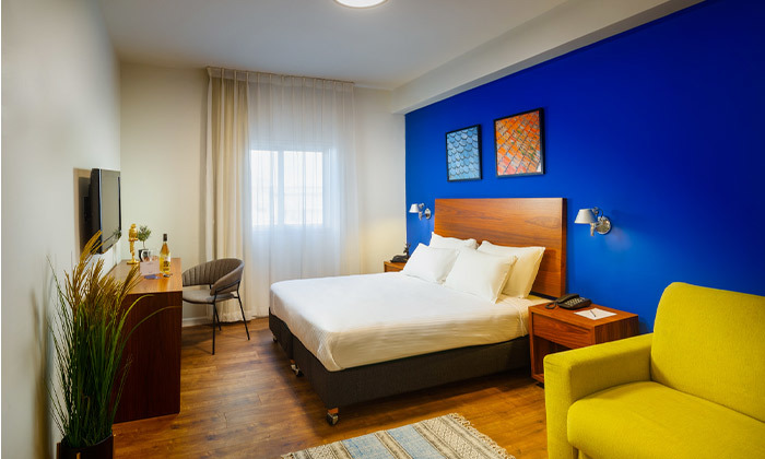 """6 חופשה במלון ג'ייקוב Jacob טבריה, כולל סופ""""ש"""