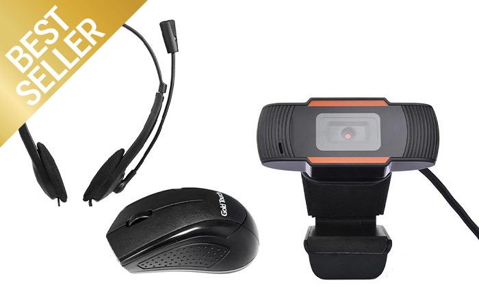 2 מצלמת רשת web cam 1080p