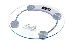 משקל זכוכית דיגיטלי עגול