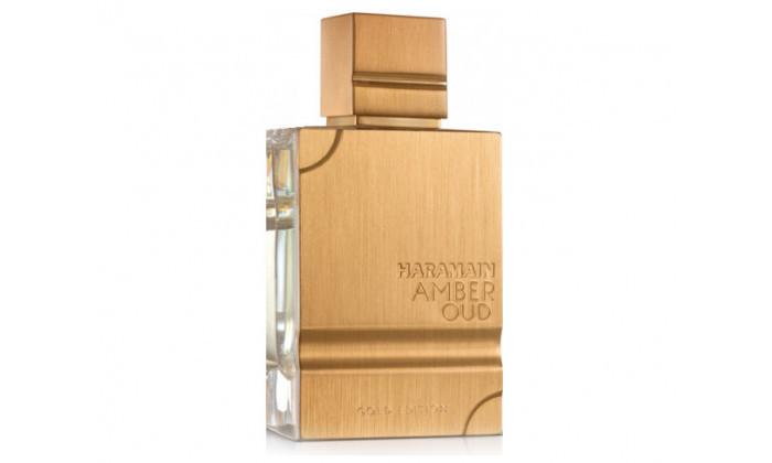 3 בושם לגבר AL HARAMAIN דגם Amber Oud Gold Edition - נפח לבחירה