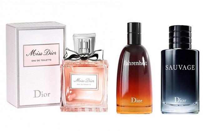2 מגוון בשמי Christian Dior לגבר ולאישה