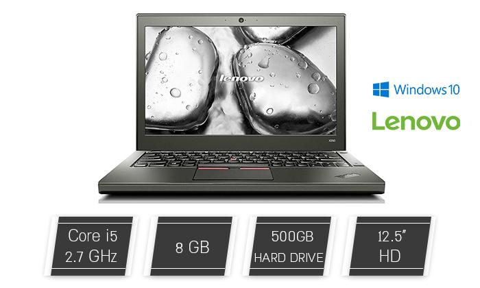 2 מחשב נייד LENOVO עם מסך 12.5 אינץ'
