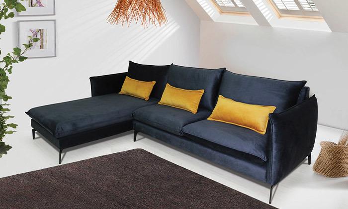 2 ספה פינתית גדולה 3 מטרים Or Design דגם מימוזה