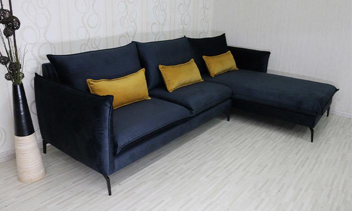 4 ספה פינתית גדולה 3 מטרים Or Design דגם מימוזה