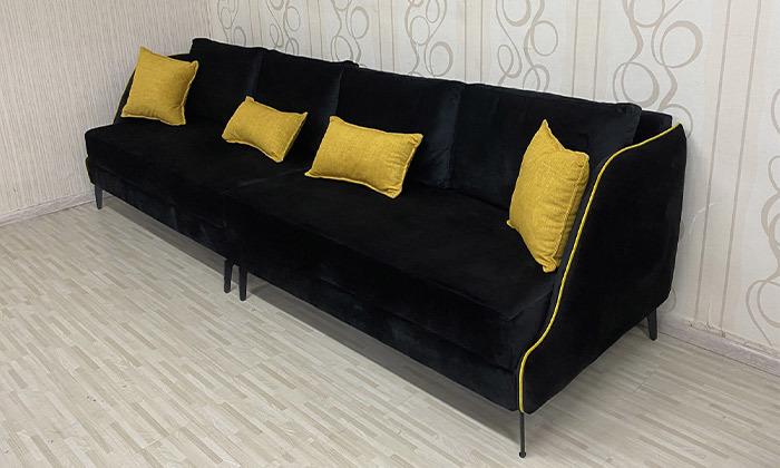 4 ספה תלת מושבית גדולה Or Design, דגם איילנד
