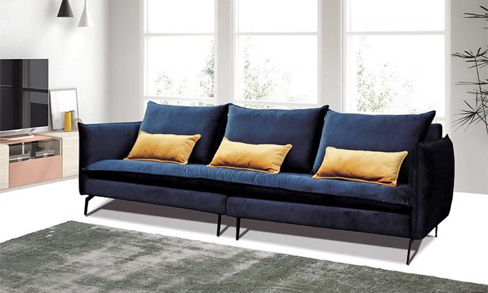 2 ספה תלת מושבית גדולה Or Design, דגם סוהו