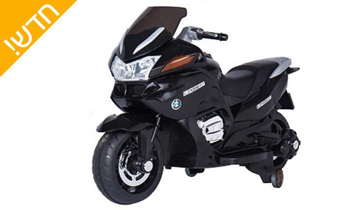 3 אופנוע חשמלי לילדים BMW