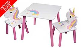 שולחן ו-2 כיסאות ילדים