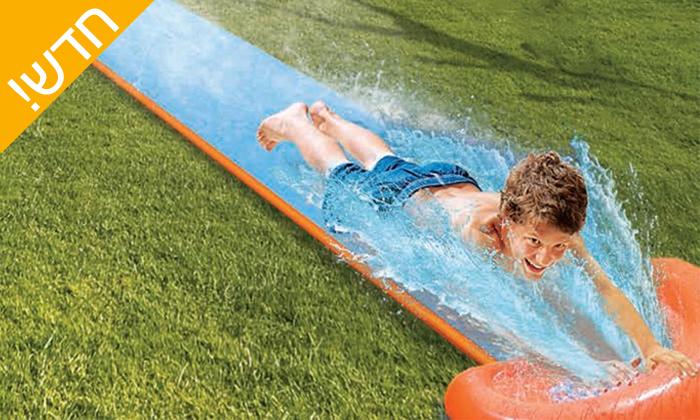 2 מגלשת מים מתנפחת לילדים 5.5 מטר