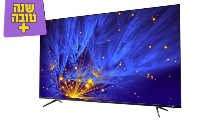 2 טלוויזיה חכמה 4K TCL, מסך 50 אינץ'