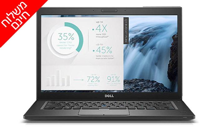 """4 מחשב נייד DELL מחודש דגם 7480 עם מסך """"14, מעבד i5 וזיכרון 16GB - משלוח חינם"""