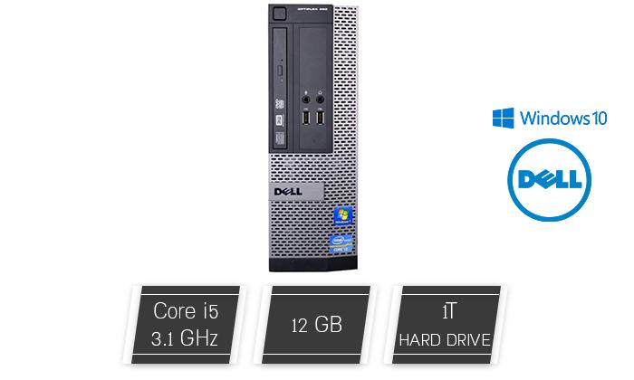2 מחשב נייח HP/DELL