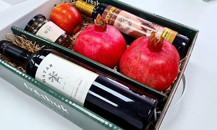 5 מארזי חג כשרים עם שמן זית, דבש, תמרים או יין במשלוח עד הבית