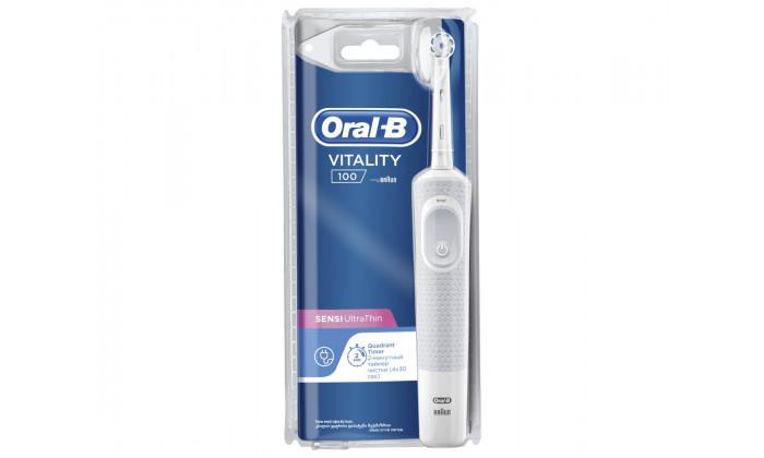 2 מברשת שיניים חשמלית אורל בי Oral-B דגםVitality D12