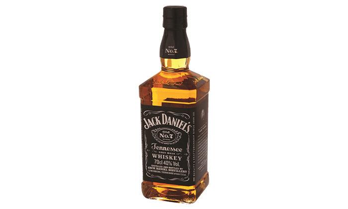 """3 בקבוק וויסקי ג'ק דניאלס 700 מ""""ל"""