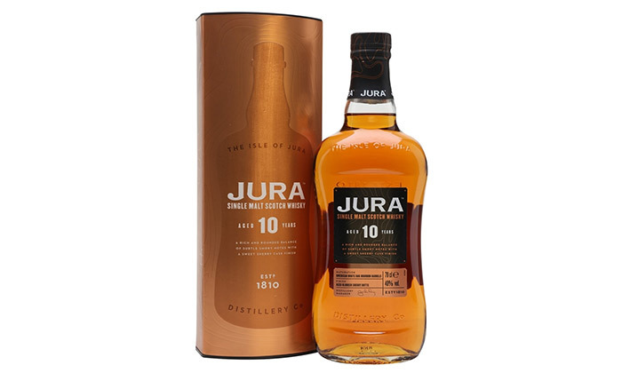 3 בקבוק אייל אוף ג'ורה 10 שנים - וויסקי סינגל מאלט סקוטי