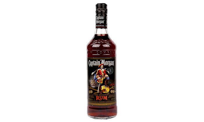 3 בקבוק וויסקי קפטן מורגן בלאק