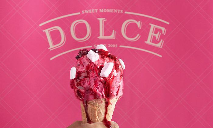 4 קילו גלידה ב-T.A או במשלוח מדולצ'ה DOLCE, פרדס חנה-כרכור