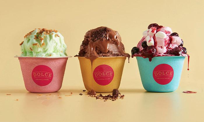 2 קילו גלידה ב-T.A או במשלוח מדולצ'ה DOLCE, פרדס חנה-כרכור