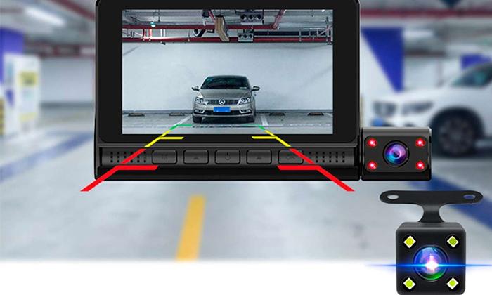 4 מצלמת דרך לרכב 360 מעלות