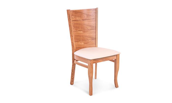 3 פינת אוכל עגולה עם כיסאות LEONARDO דגם אוליביה