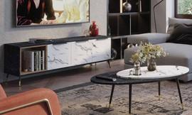 מזנון שולחן לסלון