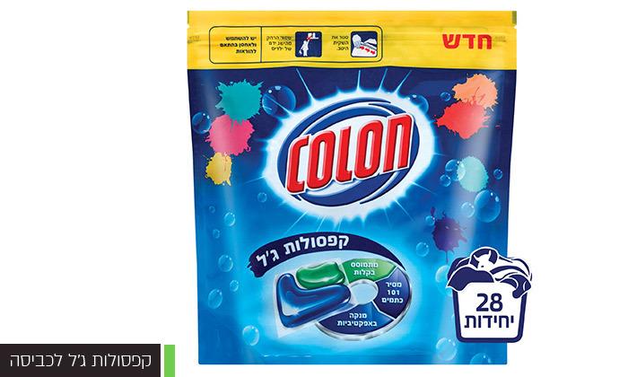 10 מארז 5 מוצרי כביסה COLON, VANISH ו-WOOLITE לבחירה