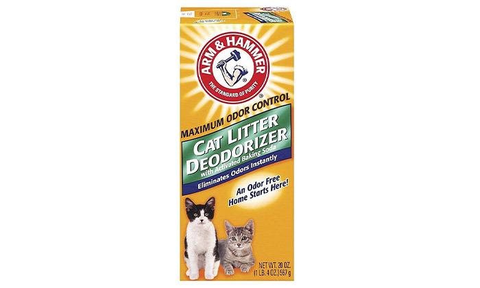 3 3 יח' מנטרל ריחות לחול חתולים Arm & Hammer